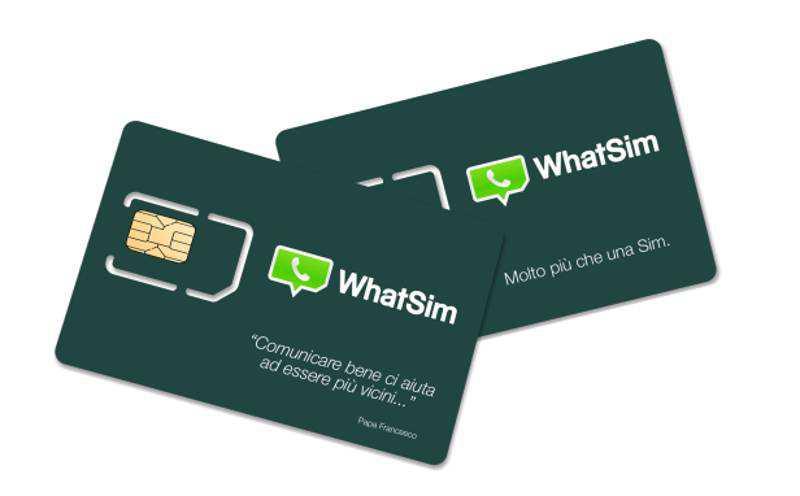 WhatSim arriva in Italia, la sim per chattare gratis e senza limiti con WhatsApp in tutto il mondo!