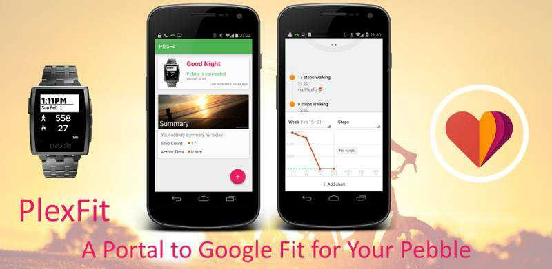 Google Fit arriva su Peeble grazie a PlexFit