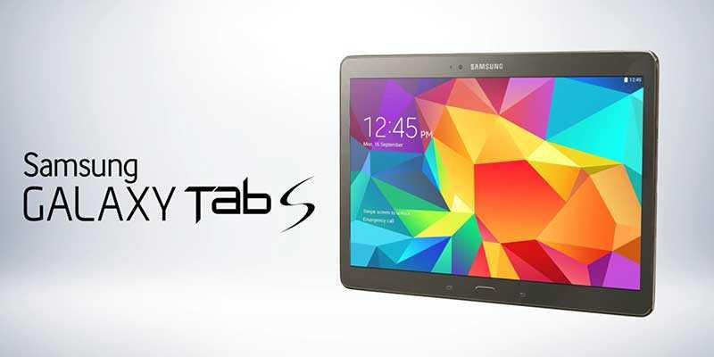 Samsung al lavoro su un tablet Galaxy Tab S di seconda generazione