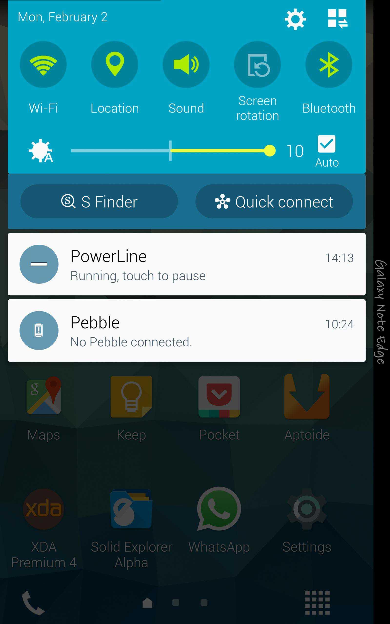 Disponibile Android 5.0 Lollipop per Galaxy Note Edge grazie ad una leaked rom