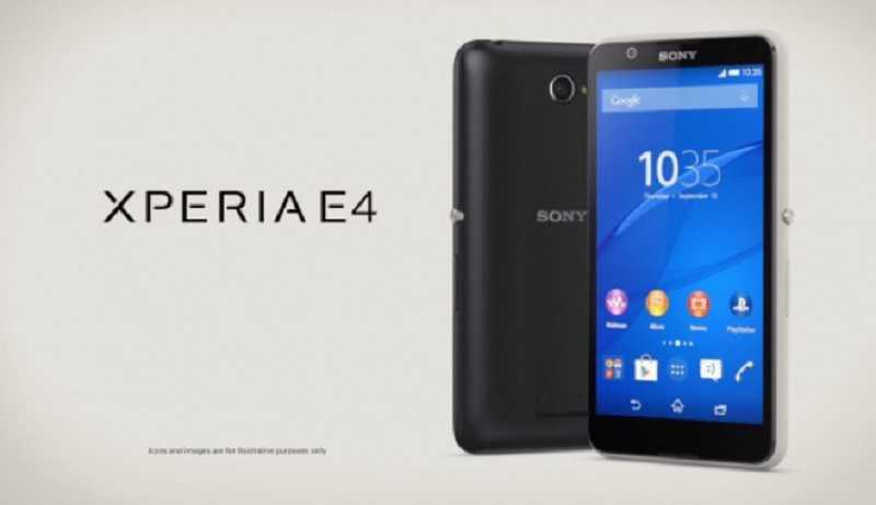 Sony Xperia E4: nuove indiscrezioni sulla data d'uscita