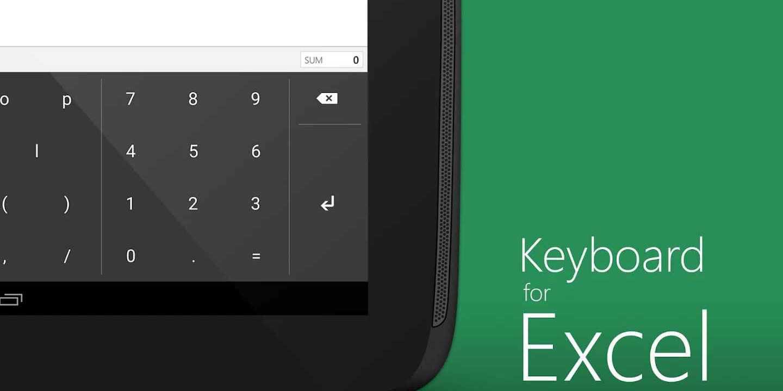 Microsoft rilascia una tastiera completamente ottimizzata per Excel