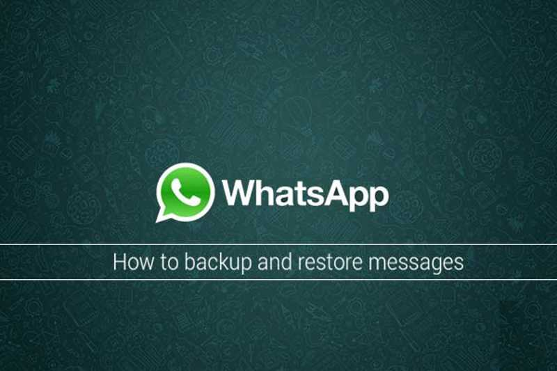 Guida al backup e ripristino di WhatsApp
