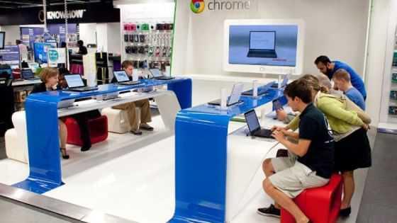 Google apre a Londra il suo primo store fisico