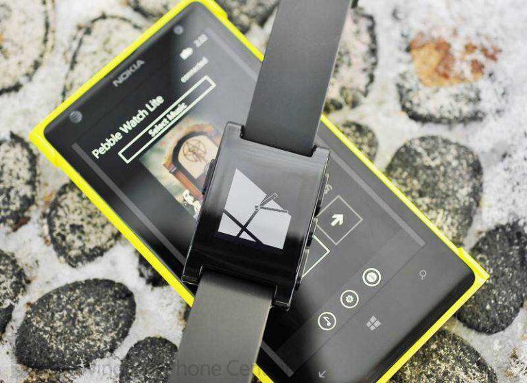 Pebble e Windows Phone, arrivano le notifiche grazie alla community