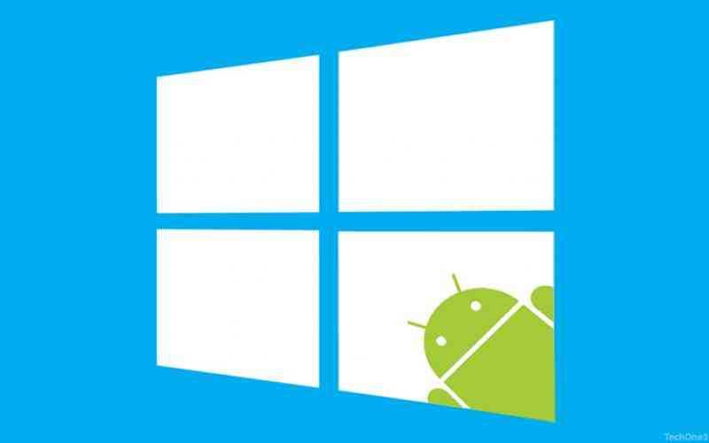 Microsoft sta sperimentando app Android su Windows 10?