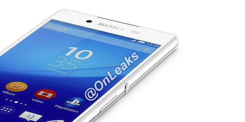 Sony Xperia Z4: primo render ufficiale, tutti i dettagli