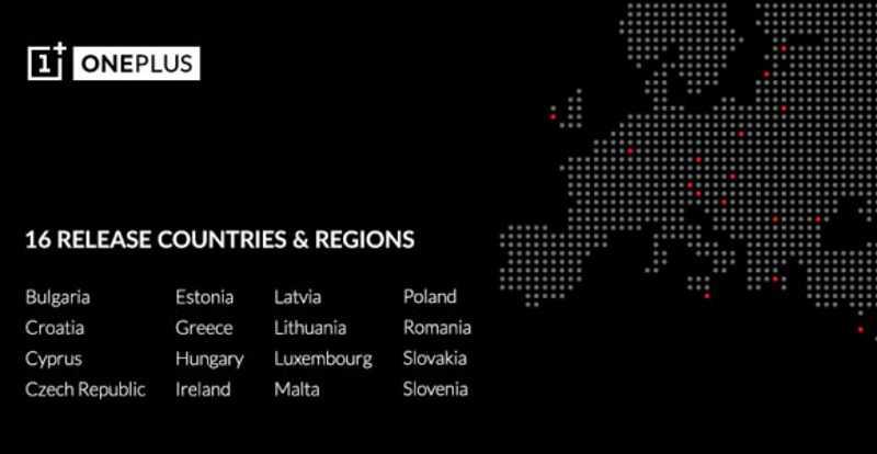 OnePlus apre i primi punti vendita in Europa