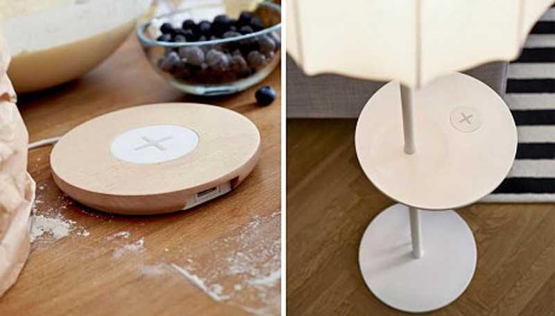 Ikea, addio ai cavi grazie ai mobili con ricarica wireless QI