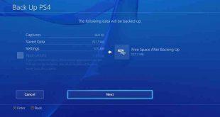 Come salvare i dati PS4 su un Hard Disk esterno