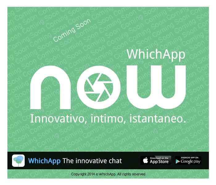 WhichApp lancia in nuovo servizio Now
