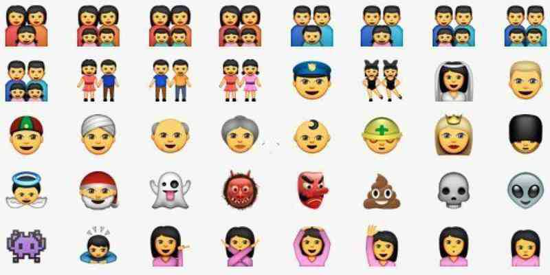 iOS 8.3 con 300 nuove emoji, si a famiglie alternative no ai rossi