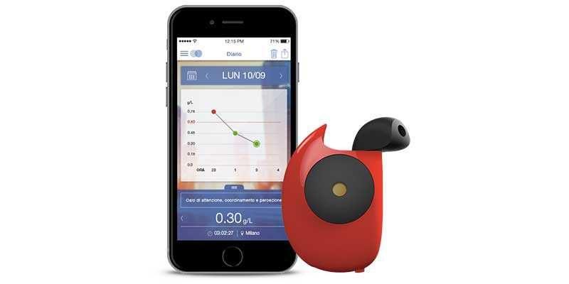 Vodafone presenta Floome: il primo etilometro per Smartphone