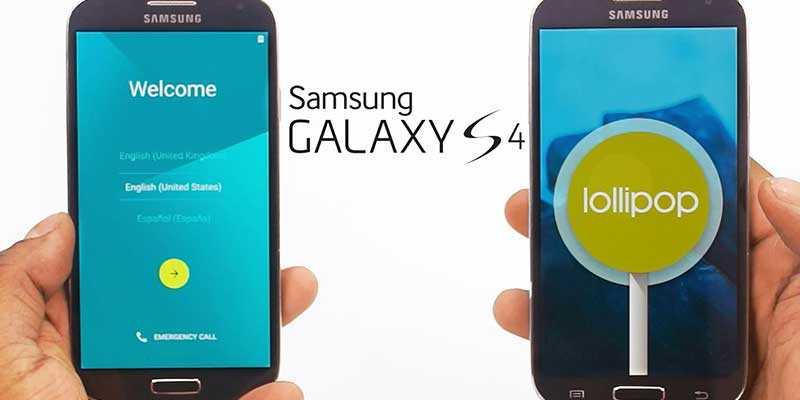 Samsung Galaxy S4 riceve Lollipop anche per i no brand Italia