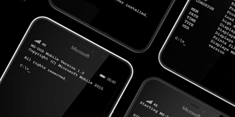 Microsoft Ritorno al Futuro, arriva il Dos sui dispositivi Lumia