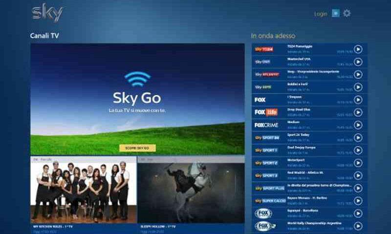SkyGo per Windows 8.1 finalmente disponibile nello Store