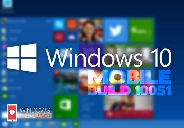 Windows 10 TP build 10051: rilasciata la versione per Smartphone