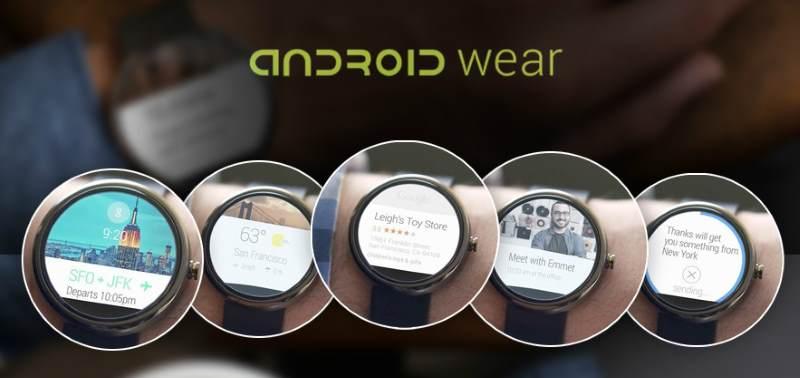 Android Wear con la nuova versione abbandona la watchface Together