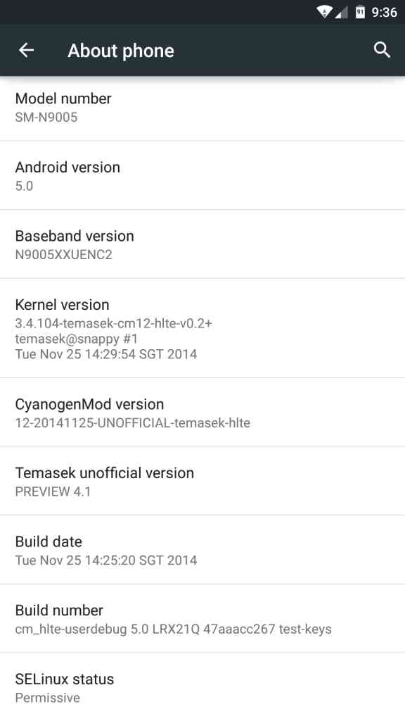 Android 5.1.1 Lollipop per Galaxy S3
