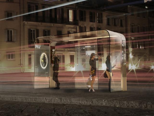 Ericsson svela la fermata del bus connessa