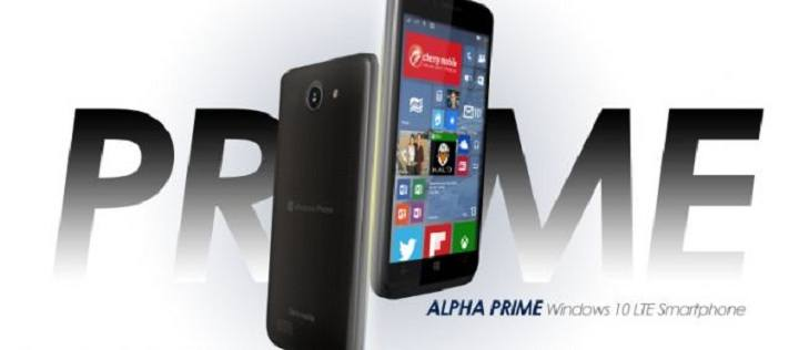 Alpha Prime 4 e 5: due nuovi smartphone Windows 10 Mobile