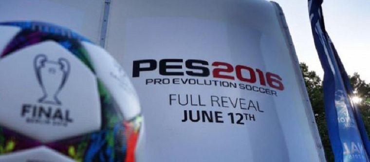 Pes 2016 si svelerà in data 12 giugno!
