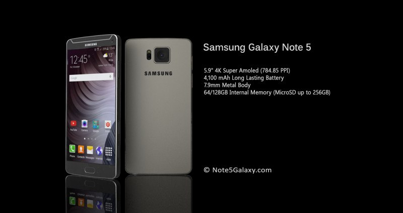 Samsung Galaxy Note 5 ad agosto: scacco ad iPhone 6s