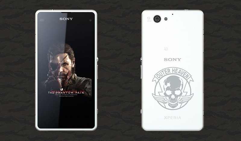 Sony Xperia J1 Compact: The Phantom Pain Edition ufficiale