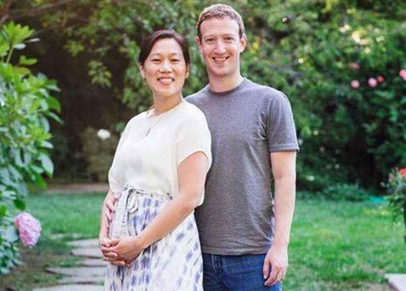 Mark Zuckerberg annuncia su Facebook che sta per diventare padre
