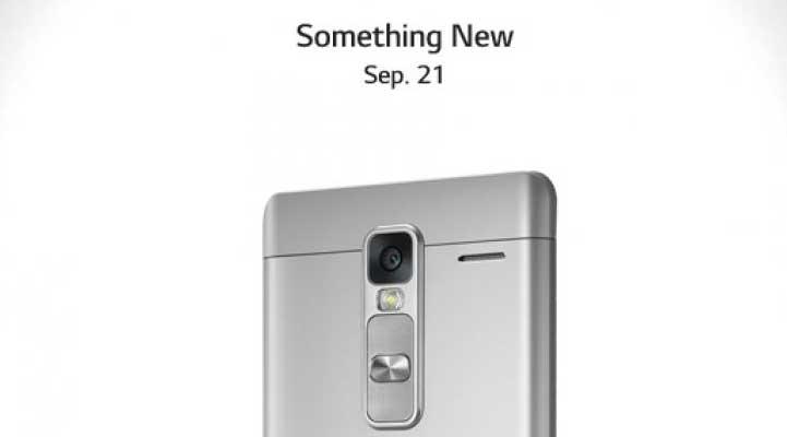 LG Class, nuovo smartphone in metallo che verrà presentato il 21 settembre