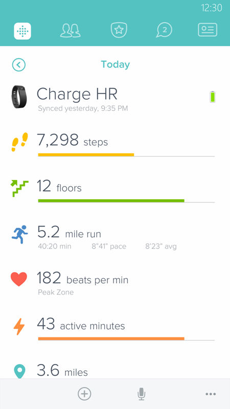 Fitbit presenta la nuova app per Windows 10