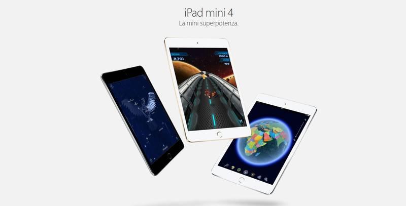 iPad Mini 4, la migliore sorpresa positiva presentata ieri da Apple