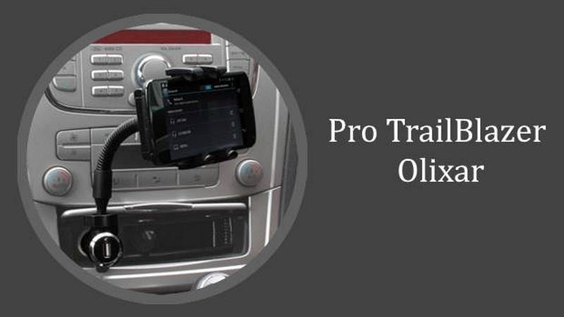 Recensione caricabatterie e supporto auto universale Pro TrailBlazer Olixar