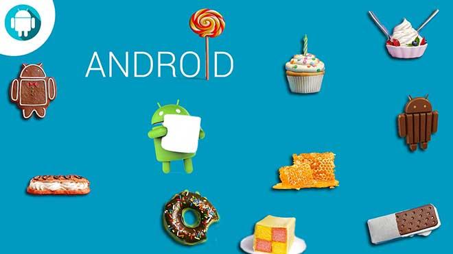 Da Cupcake a Marshmallow: la dolce storia Android in alcune immagini
