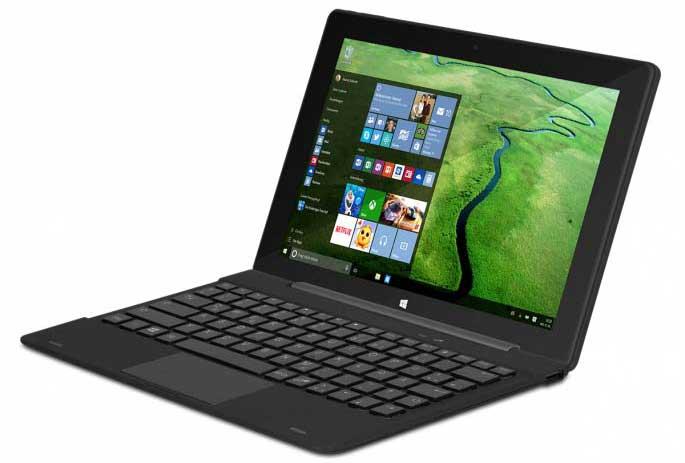 TrekStor twin 10.1 con Windows 10: Tablet o Notebook?