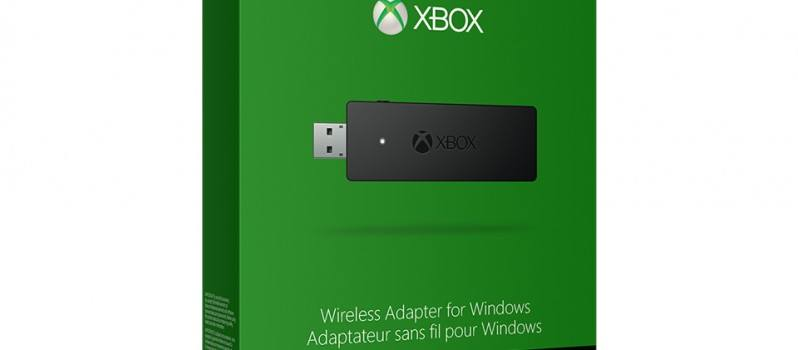 Xbox One Wireless Adapter annunciata ufficialmente da Microsoft