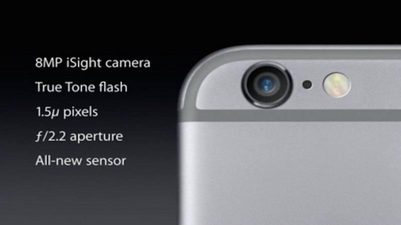 iPhone, infografica mostra evoluzione fotocamere
