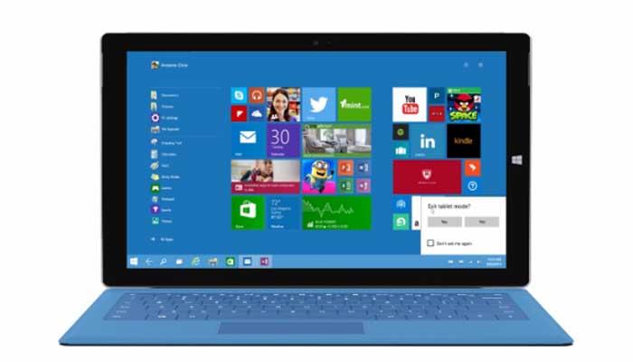 Come impostare la modalità tablet Windows 10 Mobile