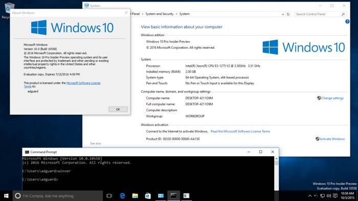 Windows 10 build 10588: novità per Edge, Skype e Messaggi