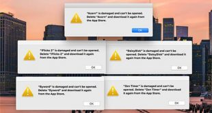 """Mac App store svelato il motivo della dicitura """"App danneggiata"""""""