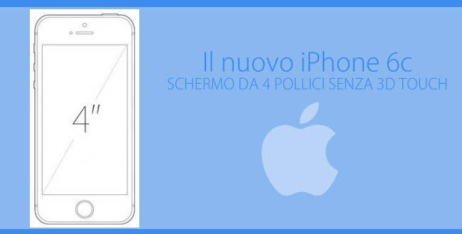 Nuovo iPhone 6c in arrivo!