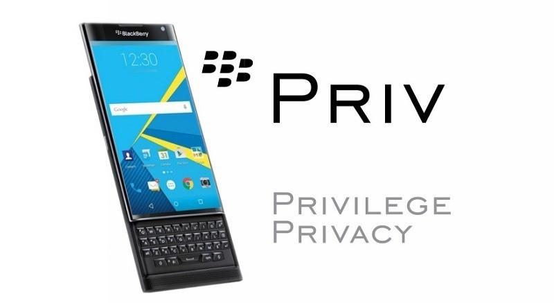 Blackberry Priv: la riservatezza diventa un lusso