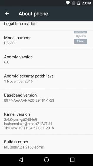 Android 6.0 Marshmallow Concept, arrivano i temi su Xperia Z3 e Xperia Z3 Compact