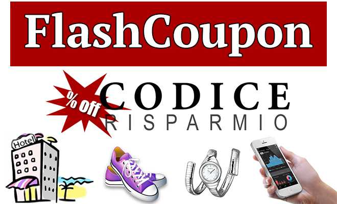 CodiceRisparmio.it lancia i FlashCoupon!