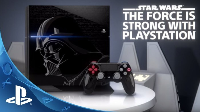 PS4 Star Wars Edition da 1TB e con un gioco in offerta a 429€ da Media World