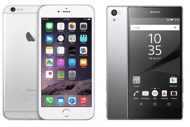 iPhone 6s vs Xperia Z5