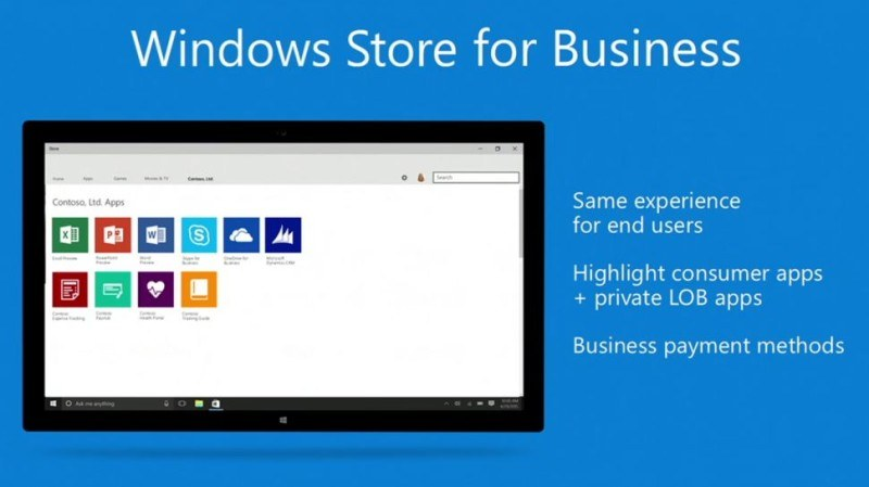 Windows Store for Business, il nuovo market di Microsoft