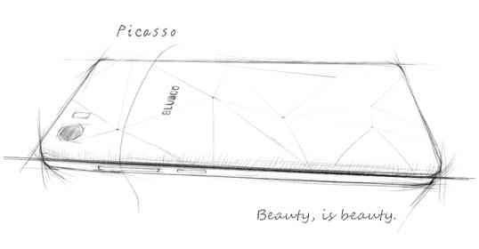 Bluboo Picasso, una nuova serie di schemi mostrano un nuovo dispositivo