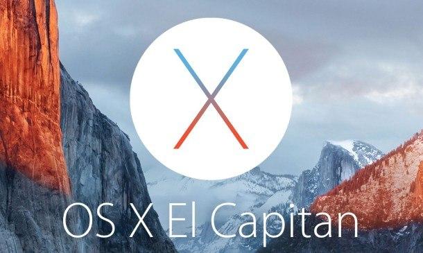 OS X El Capitan 10.11.3 Beta 1 rilasciata per i developer