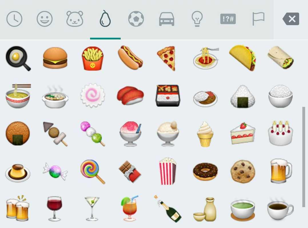 WhatsApp nuove emoji
